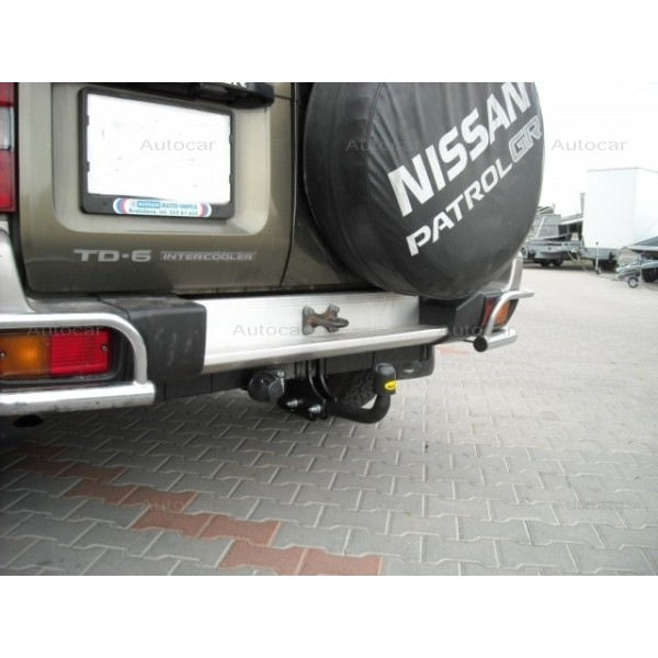 Towbar Nissan Patrol GR (Y61) - 3/5dr. - from 1997 to 2004 on