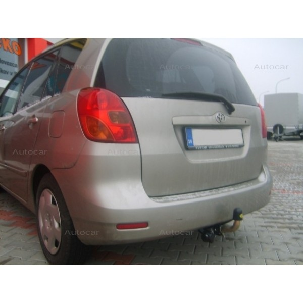 automatic towbar toyota corolla verso e12 from 2001 to 2004. Black Bedroom Furniture Sets. Home Design Ideas