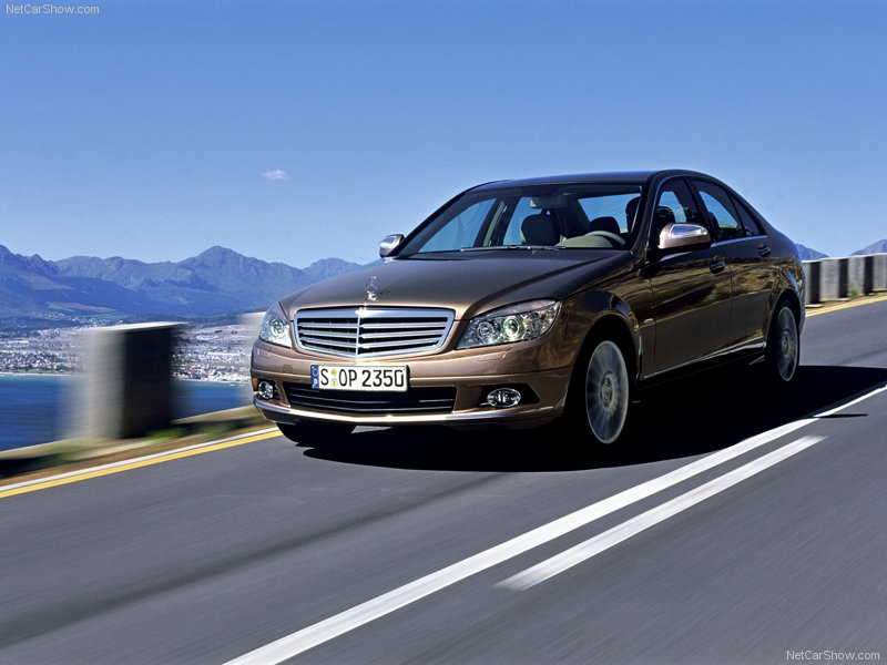 Avtomatic towbar Mercedes C Class 4dr w204 from 2007 03