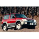 Towbar Toyota Land Cruiser (J90/J95) - 3dr. - from 1996 to 2002