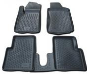 Rubber carmats with high edge